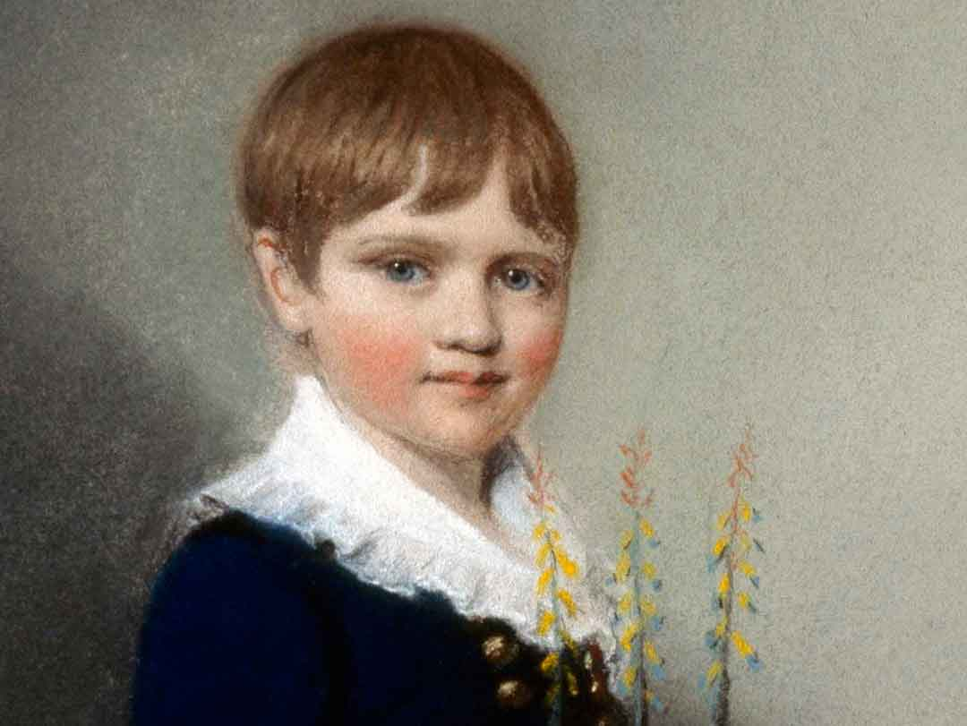 Darwin as a young boy