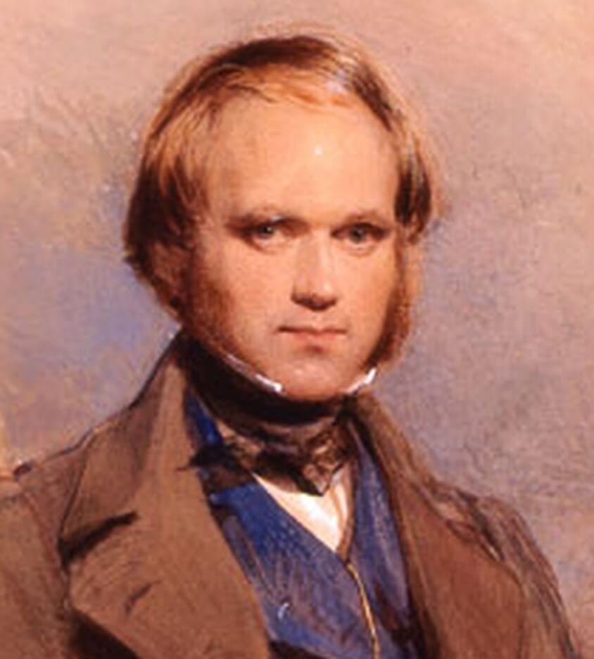 © Young Charles Darwin