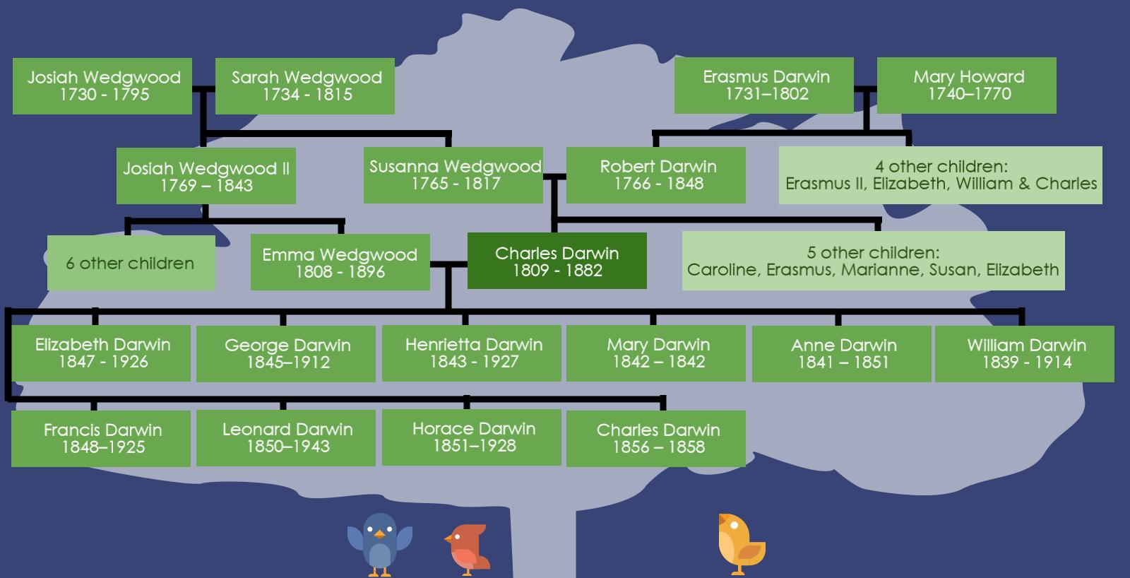 Darwin's Family Tree