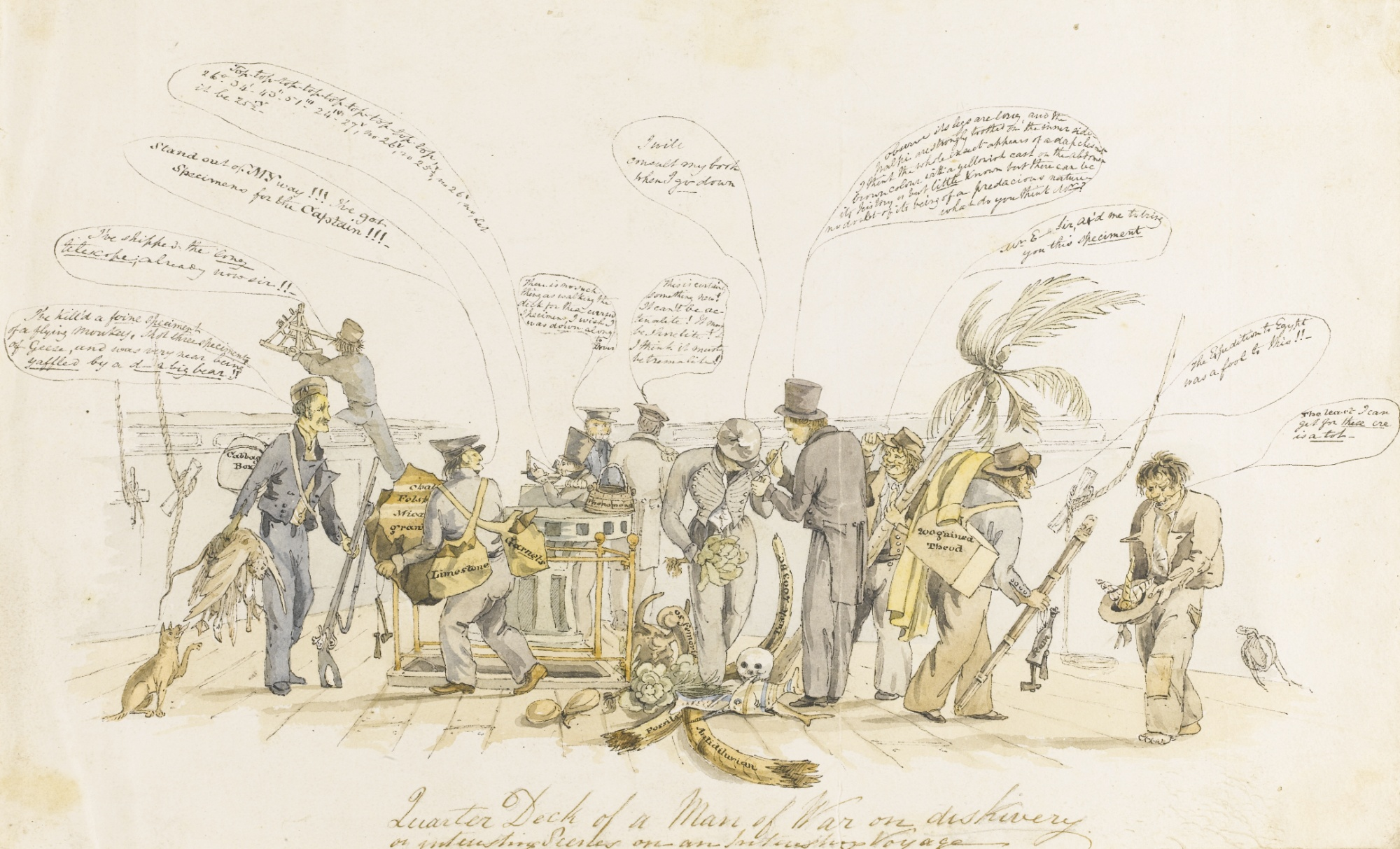 Interesting Scenes on an Interesting Voyage by Augustus Earle